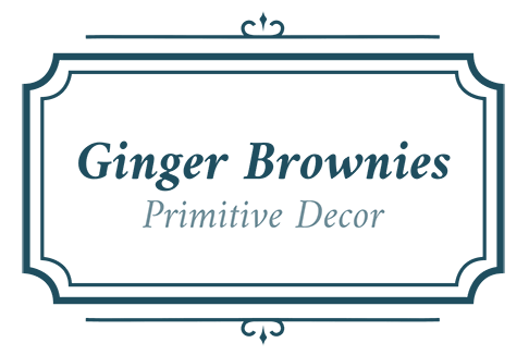 Ginger Brownies Primitive Decor